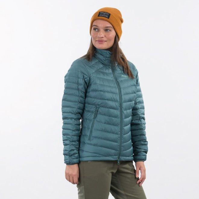 Røros Down Light - Women's Jkt - Forest Frost / Light Forest Frost