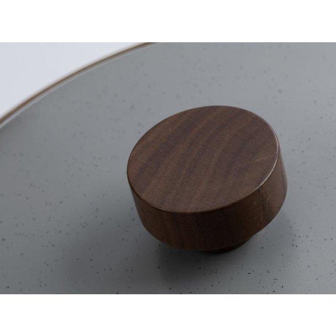 Emaille Stock Pot / Soeppan. Stone Grey