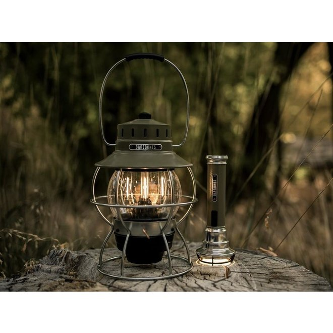 Railroad Lantern - Olive