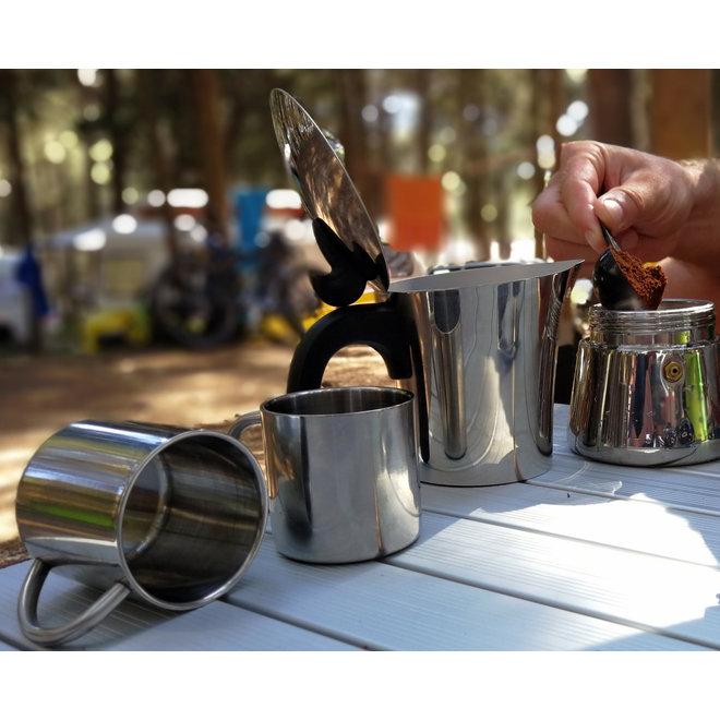 Espresso maker Edelstaal 4 kops