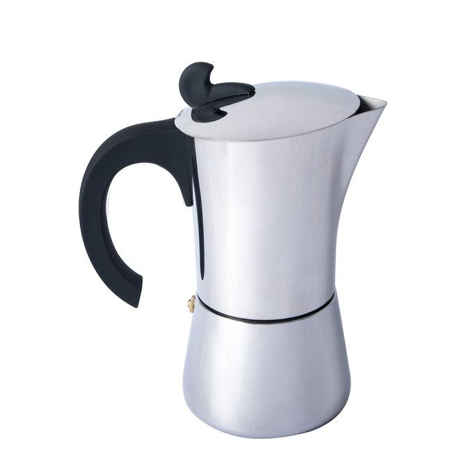 Espresso maker Edelstaal 6 kops