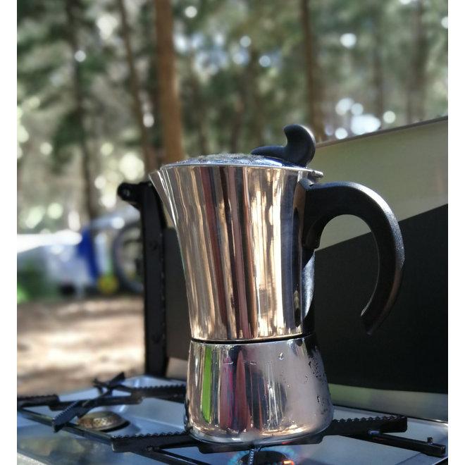Espresso maker Edelstaal 9 kops