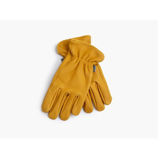 Klassieke Werkhandschoen Natural Yellow  S/M