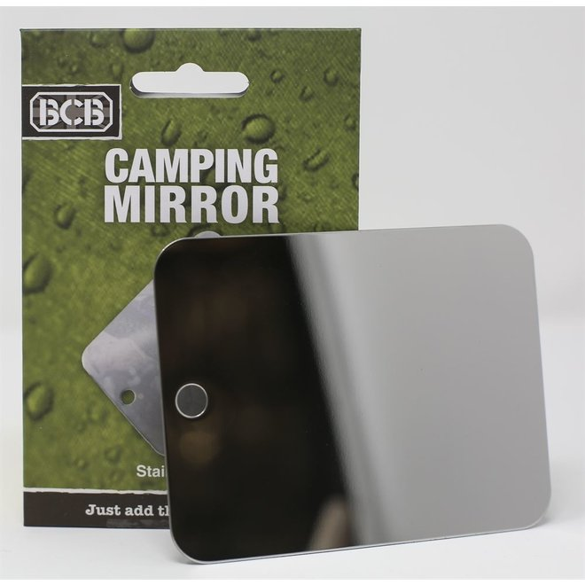 Camping Mirror Stainless Steel