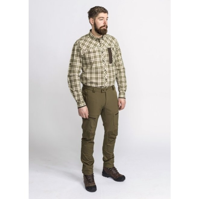 Wolf Insect-Safe Shirt - Green / Brown (5129)
