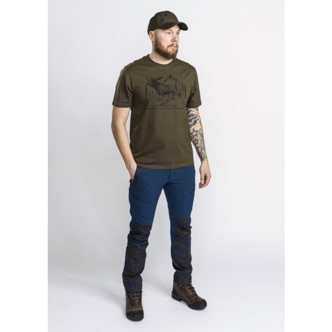 Moose T-Shirt - Green (5571)