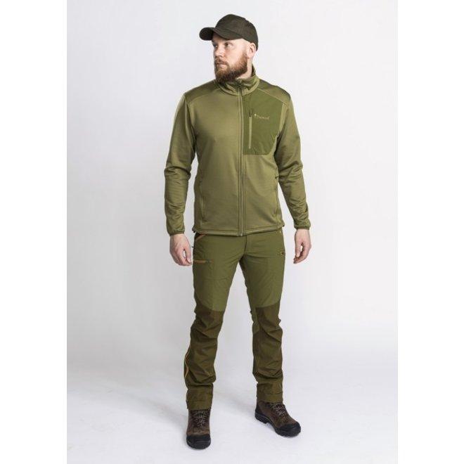 Brenton Powerfleece Sweater - Leaf (5779)