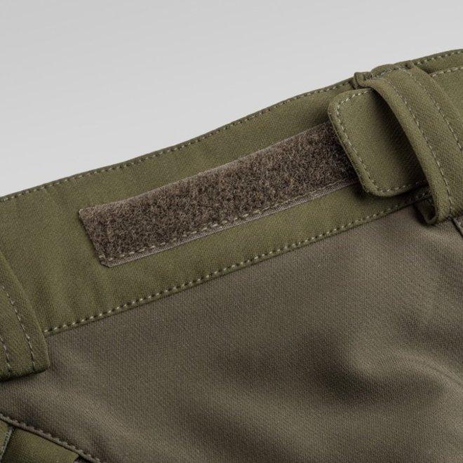 Brenton Trousers - Dark Olive / Suede Brown (5402)