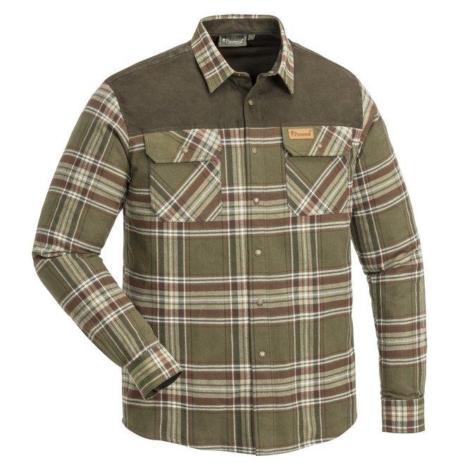 Douglas Shirt - Suede Brown / Khaki (9436)