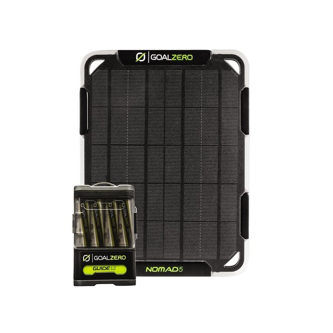 Nomad 5 + Guide 12 Powerbank Kit