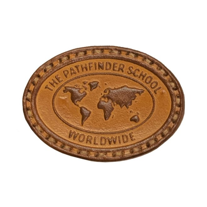 The Pathfinder School Patch-Leather
