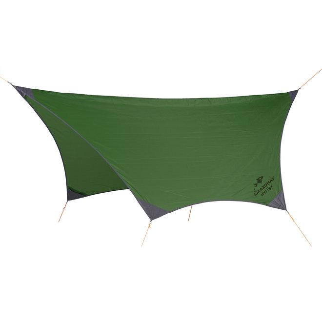 Ultra-Light Traveller Tarp (Forest green)