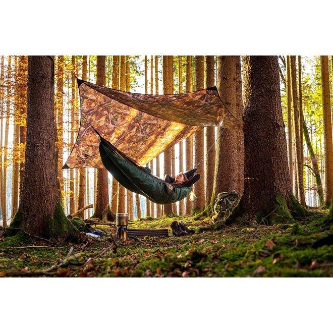 Ultra-Light Traveller Tarp (Forest print)