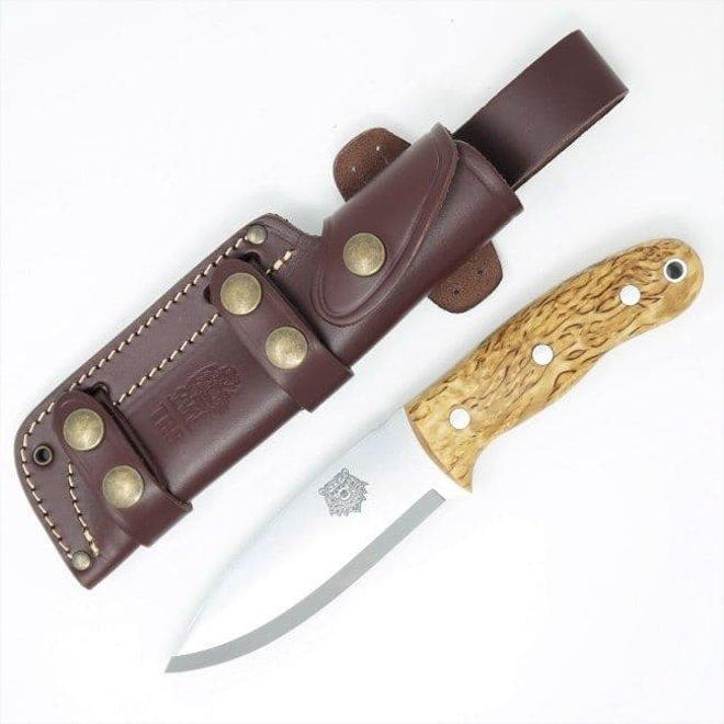 Grizzly Bushcraft Knife-Curly Birch