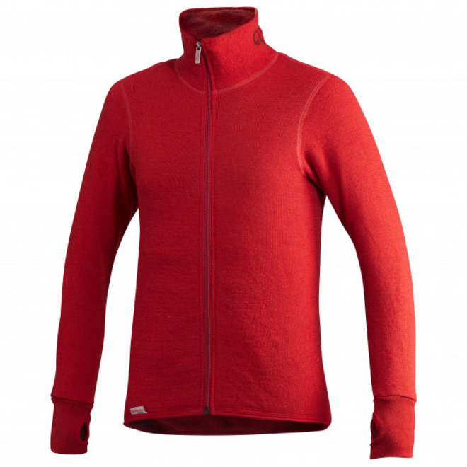 Merino Mid Layer Full Zip Jacket 400 - Autumn Red