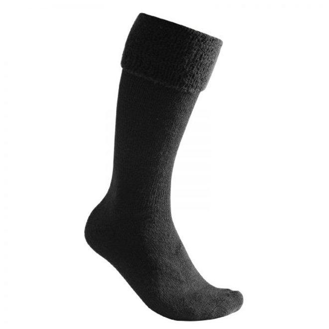 Merino Sokken Knee-High 600 - Black