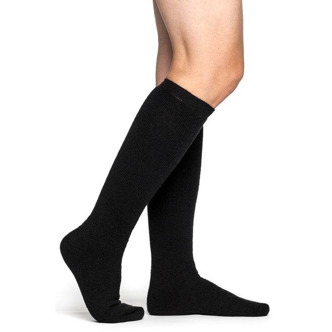 Merino Sokken Knee-High 400 - Black