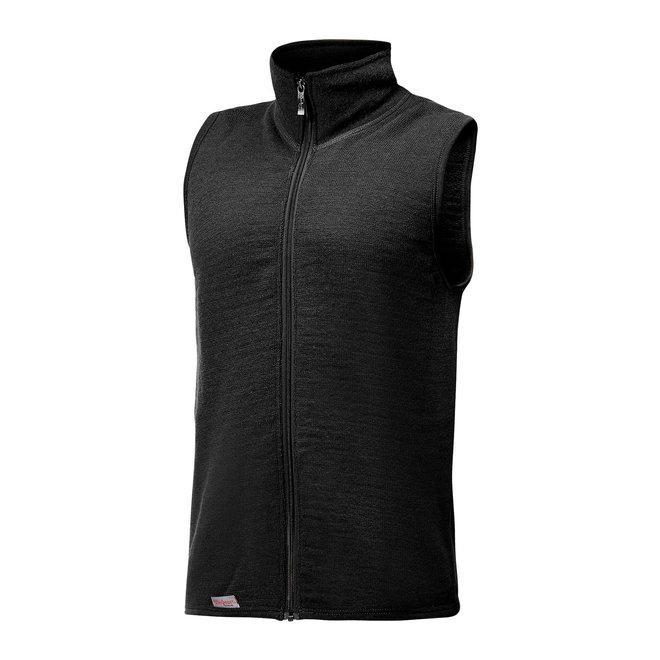 Merino Mid Layer Vest 400 - Black
