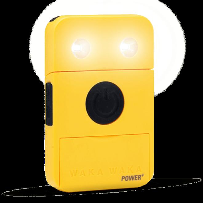 Power+ - Solar Lamp/Powerbank - Geel