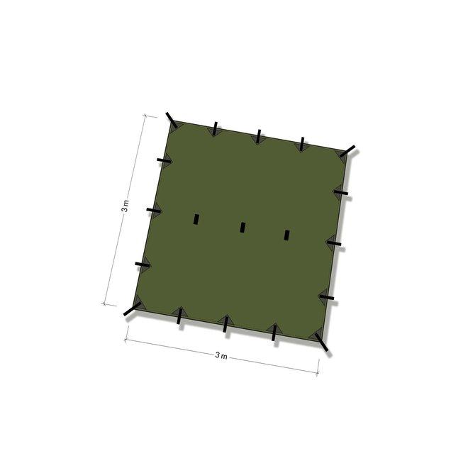 Tarp 3x3 – Forest Green