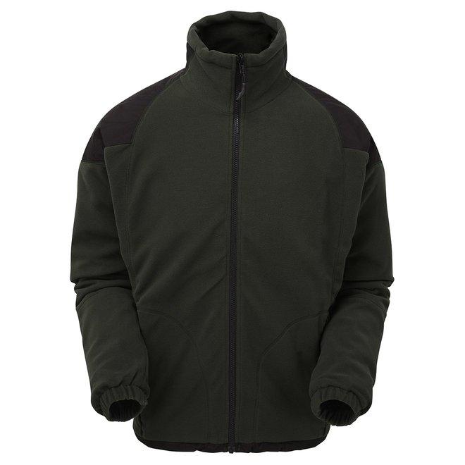Genesis Waterproof Fleece Jacket - Moss Green