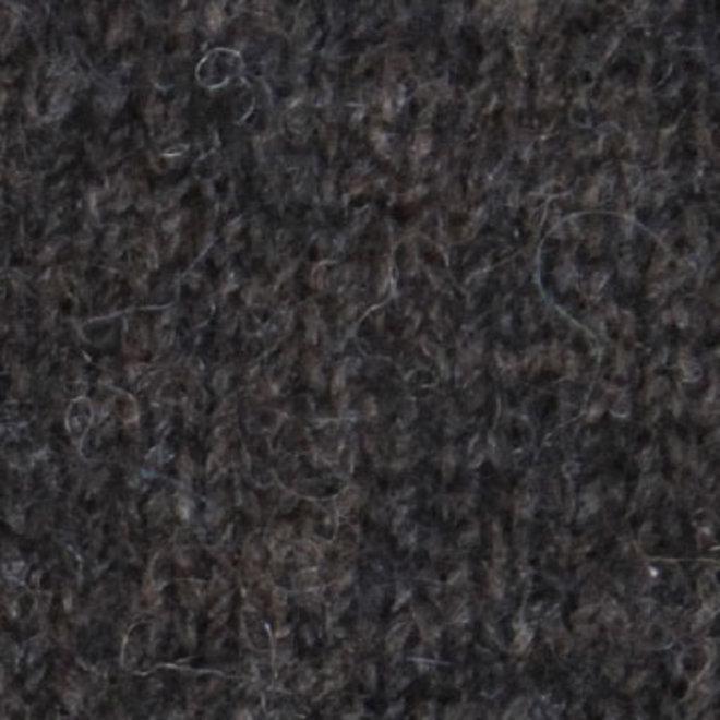 Possum Merino Javelin Zip Neck - Wollen Trui - Charcoal