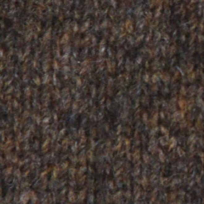 Possum Merino Javelin Zip Neck - Wollen Trui - Kauri