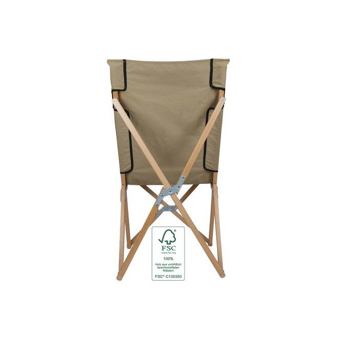 Beuken-houten Vouwstoel Large- Sand