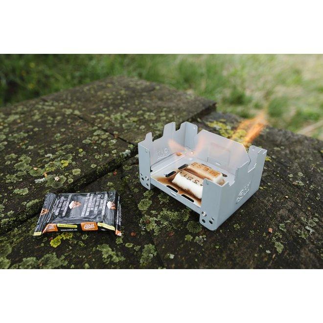 Grote Inklapbare Brander + Solid Fuel 12x14 Gram