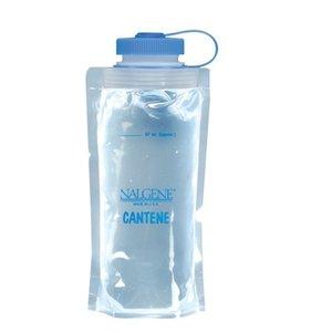 Nalgene Cantene - PE opvouwbare fles 1 liter