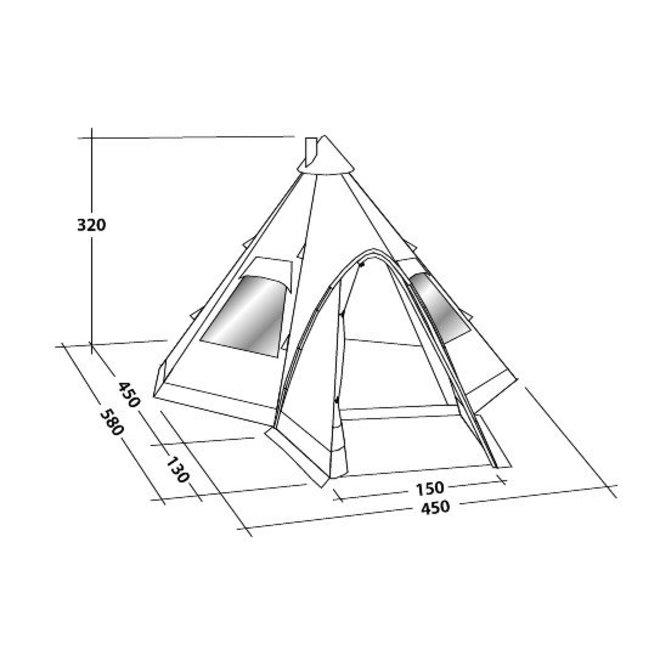 Kiowa Tipi Tent