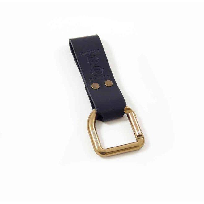 No.3 Dangler + belt loop - zwart