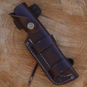TBS Outdoor Leather Brown Knife Sheath