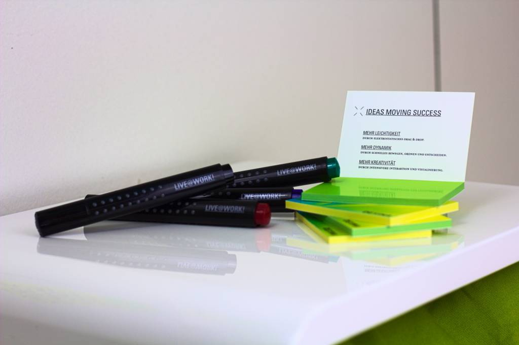 Permanent Grip Marker in Rot, Blau, Grün oder Schwarz