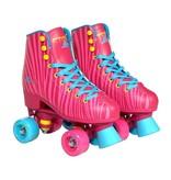 Move Rollerskates Quad Star Zebra Pink