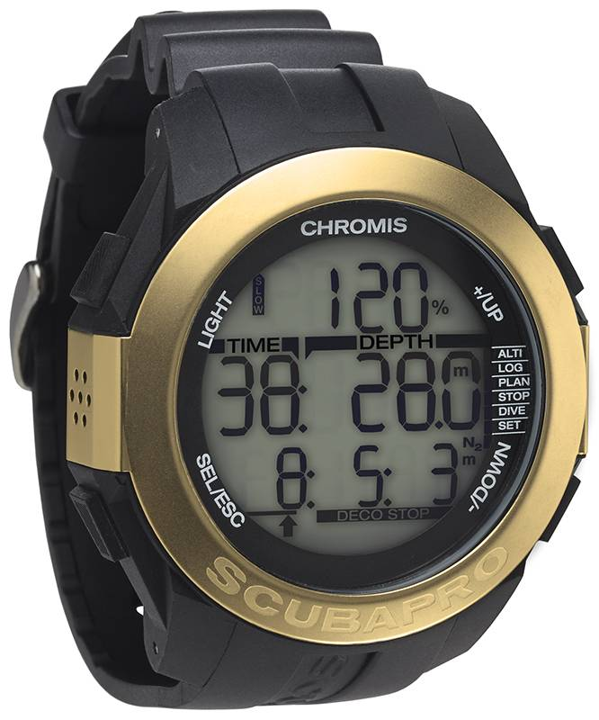 Scubapro Scubapro Chromis duikcomputer 'Gold'
