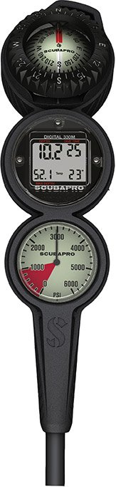 Scubapro Scubapro 3 Gauge Digital Inline Console