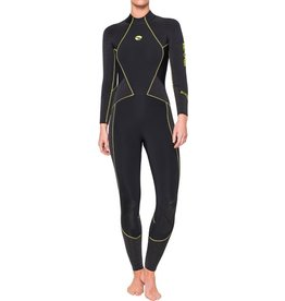 Bare Bare 7mm Evoke Full Black Women Wetsuit