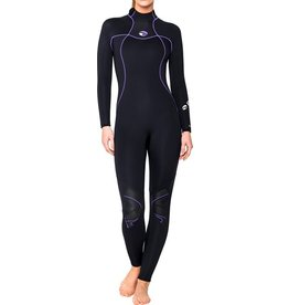 Bare Bare 7mm Nixie S-Flex Full Black Women Wetsuit