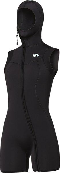 Bare Bare 7mm Nixie S-Flex Step-In Hooded Vest Black Women