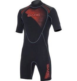 Bare Bare 2mm Sport Shorty Red Men