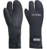 Bare Bare 7mm Three Finger Mittn Handschoen