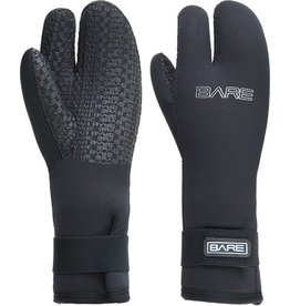 Bare Bare 7mm Three Finger Mittn Glove