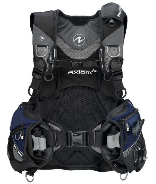 AquaLung Aqua Lung Axiom i3 Black/Navy/Grey Trimjacket