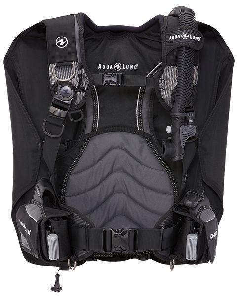 AquaLung Aqua Lung Dimension Black/Charcoal Trimjacket