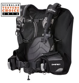 AquaLung Aqua Lung Dimension Black/Charcoal BC