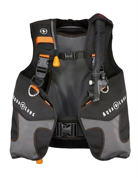 AquaLung Aqua Lung Wave Black/Orange Junior Trimvest