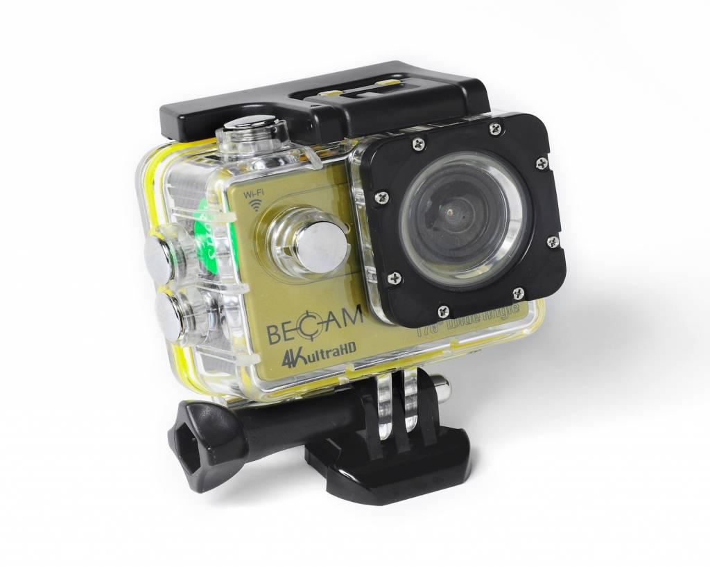 Best Divers ACTION CAMERA PRO BECAM 4K ULTRA HD GOLD
