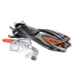 AquaLung Aqua Lung Rando SnorkelSet Men Silver L