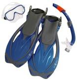 AquaLung Aqua Lung Yucatan Pro Set Blue Snorkelset